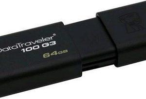 PEN DRIVE 64GB USB3.0 (DT100G3/64GB) NERA - PIANURA Informatica