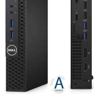 PC OPTIPLEX 3040 INTEL CORE I3-6100T 4GB 500GB BOX WINDOWS 10 PRO (DA INSTALLARE UTILIZZANDO IL PRODUCT KEY SITUATO SULL'ETICHETTA)  - RICONDIZIONATO - GAR. 12 MESI - PIANURA Informatica