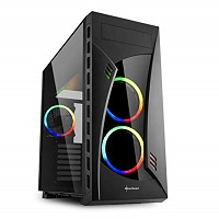 SHARKOON NIGHT SHARK RGB CASE NIGHT SHARK RGB - PIANURA Informatica