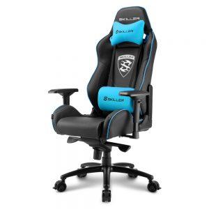 SHARKOON SGS3 BK/BU GAMING SEAT BLACK AND BLUE - PIANURA Informatica