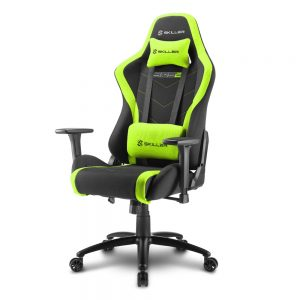 SHARKOON SKILLER SGS2 BLACK/GREEN SEDIA GAMING SHARKOON SKILLER SGS2 NERA/VERDE - PIANURA Informatica