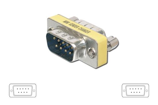 ADATTATORE MINI SERIALE 9 PIN M-M (00422) - PIANURA Informatica