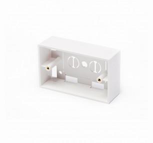BOX IN PLASTICA 503 PER PLACCHE A MURO - BIANCO (NW-BOX503-WH) - PIANURA Informatica