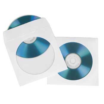 BUSTINA CD/DVD 25 PZ. - PIANURA Informatica
