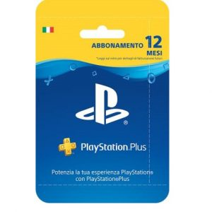 CARD PLAYSTATION PLUS HANG - ABBONAMENTO 365GG - PIANURA Informatica