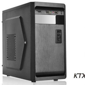 CASE TX-661 MATX ALIMENTATORE 550W - NERO - PIANURA Informatica