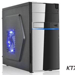 CASE TX-663 MATX ALIMENTATORE 550W - NERO / BLU - PIANURA Informatica