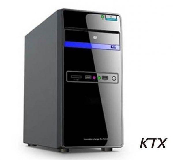 CASE TX-664 MATX ALIMENTATORE 550W - NERO / BLU - PIANURA Informatica