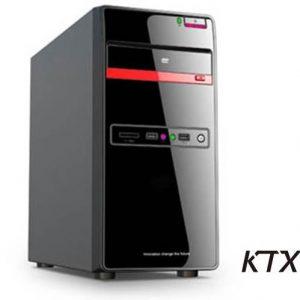 CASE TX-665 MATX ALIMENTATORE 550W - NERO / ROSSO - PIANURA Informatica