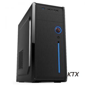 CASE TX-904 ATX ALIMENTATORE 550W - NERO - PIANURA Informatica