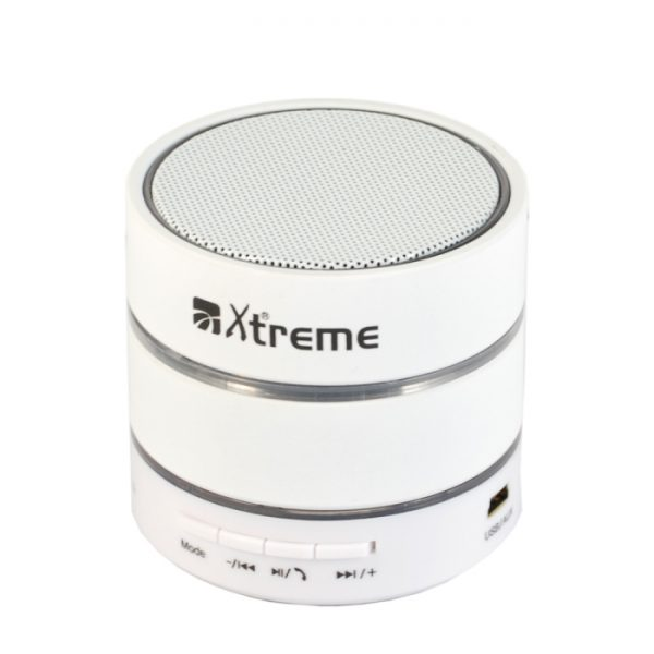CASSA MINI SPEAKER WIRELESS PORTATILE BLUETOOTH ALFA MP3 BIANCO - PIANURA Informatica