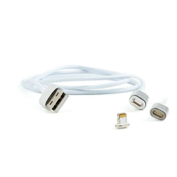 CAVO USB MAGNETICO (CCUSB2-AMLMM-1M) - PIANURA Informatica