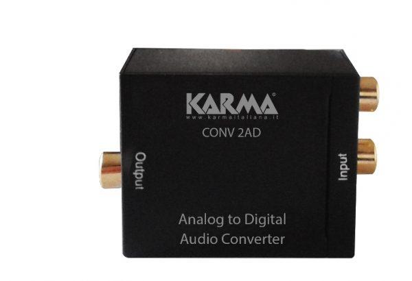 CONVERTITORE AUDIO DIGITALE - ANALOGICO (CONV 2AD) - PIANURA Informatica