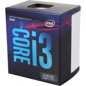 CPU CORE I3-8100 1151 BOX - PIANURA Informatica