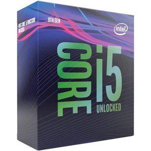 CPU CORE I5-9600K 1151 BOX - PIANURA Informatica