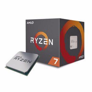 CPU RYZEN 7 2700 AM4 BOX 3.2 GHZ - PIANURA Informatica