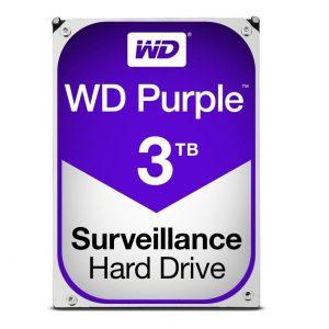 "HARD DISK PURPLE 3 TB SATA 3 3.5"" (WD30PURZ) - PIANURA Informatica"