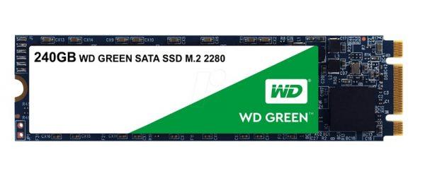 HARD DISK SSD 240GB GREEN M.2 (WDS240G2G0B) - PIANURA Informatica
