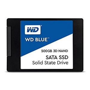 "HARD DISK SSD 500GB BLUE 3D SATA 3 2.5"" (WDS500G2B0A) - PIANURA Informatica"