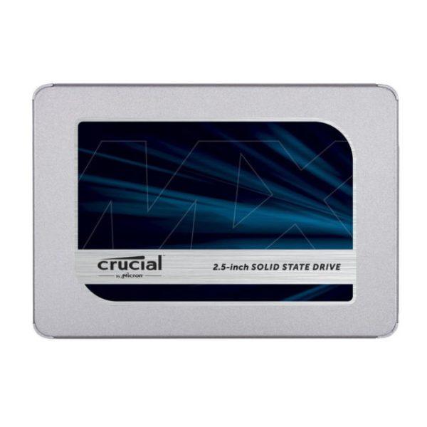 """HARD DISK SSD 500GB MX500 2.5"""" SATA 3 (CT500MX500SSD1) - PIANURA Informatica"""