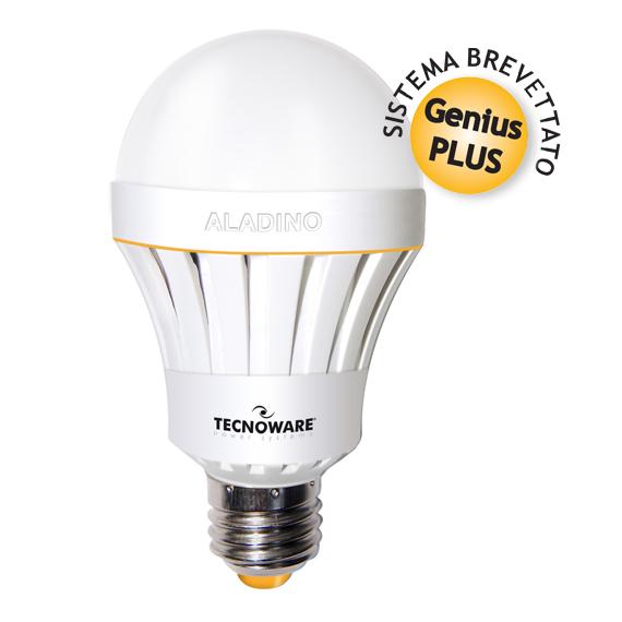 LAMPADA ALADINO LED LAMP E27 10W WARM 3000K (FLED17322) - PIANURA Informatica