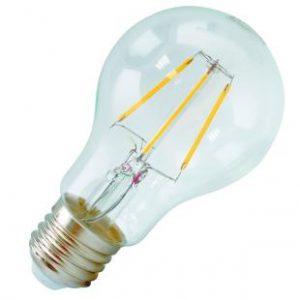 LAMPADA LED BULBO E27 6W LUCE CALDA (795383) - PIANURA Informatica