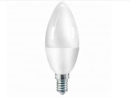 LAMPADA LED CANDELA C37 E14 5.5W LUCE NATURALE (FLC37B6W65K14) - PIANURA Informatica