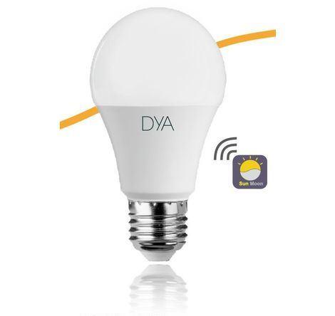 LAMPADA LED GOCCIA E27 10W LUCE CALDA 3000K SENSORE CREPUSCOLARE (DYA-243) - PIANURA Informatica
