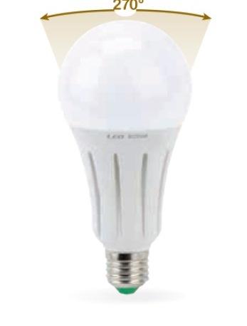 LAMPADA LED GOCCIA E27 24W CALDA 3000K (0610C) - PIANURA Informatica