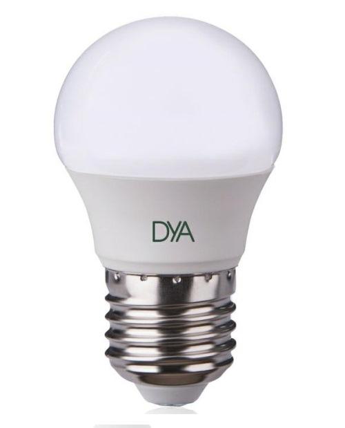LAMPADA LED SFERA E27 6W LUCE NATURALE 4000K (DYA-079) - PIANURA Informatica