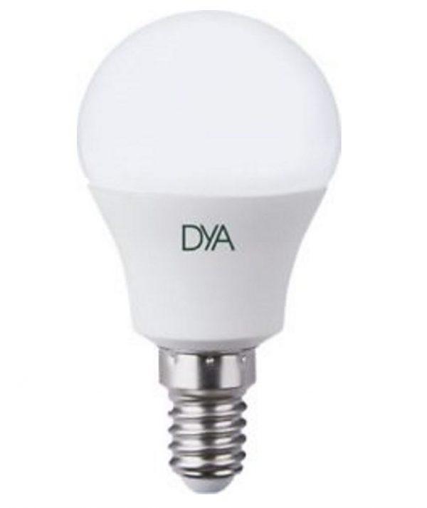 LAMPADA LED SFERETTA E14 4W LUCE FREDDA 6000K (DYA-018) - PIANURA Informatica