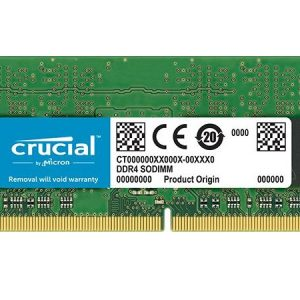 MEMORIA SO-DDR4 8 GB PC2400 (1X8) (CT8G4SFS824A) - PIANURA Informatica
