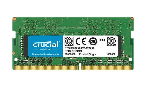 MEMORIA SO-DDR4 8 GB PC2400 (1X8) (CT8G4SFS824A) - PIANURA Informatica