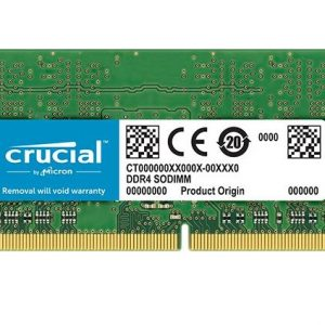 MEMORIA SO-DDR4 8 GB PC2666 (1X8) (CT8G4SFS8266) - PIANURA Informatica
