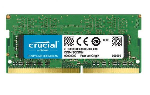 MEMORIA SO-DDR4 8 GB PC2666 (1X8) (CT8G4SFS8266) - PIANURA Informatica