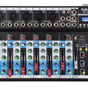 MIXER MX 4807 MICROFONICO PER DJ - PIANURA Informatica