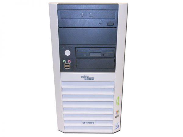 PC ESPRIMO P5915 INTEL CORE2DUO E6420 2GB 80GB DVD NO BOX - RICONDIZIONATO - GAR. 12 MESI - PIANURA Informatica