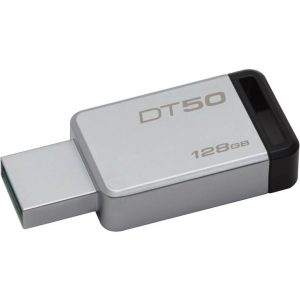 PEN DRIVE 128GB USB3.1 (DT50/128GB) NERO - PIANURA Informatica