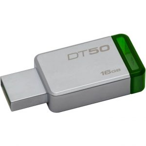 PEN DRIVE 16GB USB3.1 (DT50/16GB) VERDE - PIANURA Informatica