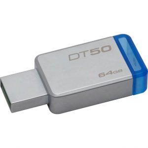 PEN DRIVE 64GB USB3.1 (DT50/64GB) BLU - PIANURA Informatica