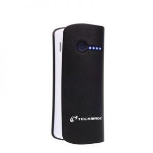 POWER BANK 6000 MAH (TM-PB6000-BK) NERO - PIANURA Informatica