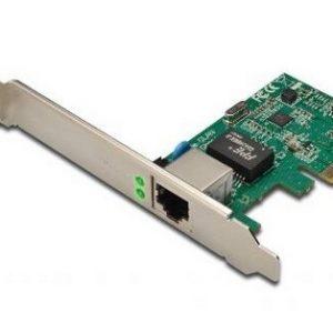 SCHEDA DI RETE 1000MBIT PCI-EXPRESS CON STAFFA (DN10130) - PIANURA Informatica
