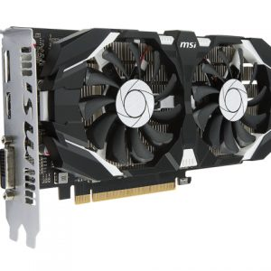 SCHEDA VIDEO GEFORCE GTX1050TI 4GT OC 4 GB PCI-E (V809-2277R) - PIANURA Informatica