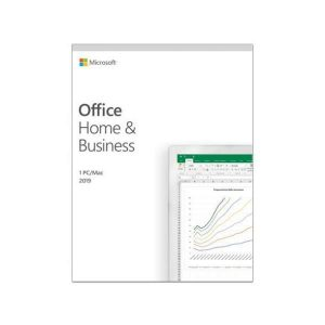 SOFTWARE OFFICE HOME AND BUSINESS 2019 (T5D-03209) MEDIALESS (KEY CARD) - PIANURA Informatica