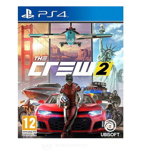 VIDEOGIOCO THE CREW 2 - PER PS4 - PIANURA Informatica