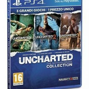 VIDEOGIOCO UNCHARTED:THE NATHAN DRAKE COLL. PS HITS - PER PS4 - PIANURA Informatica