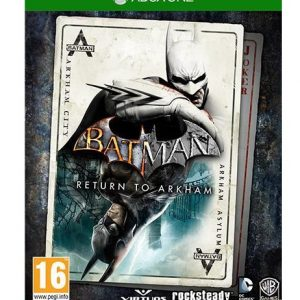 VIDEOGIOCOX BATMAN: RETURN TO ARKHAM - PER XBONE ONE - PIANURA Informatica