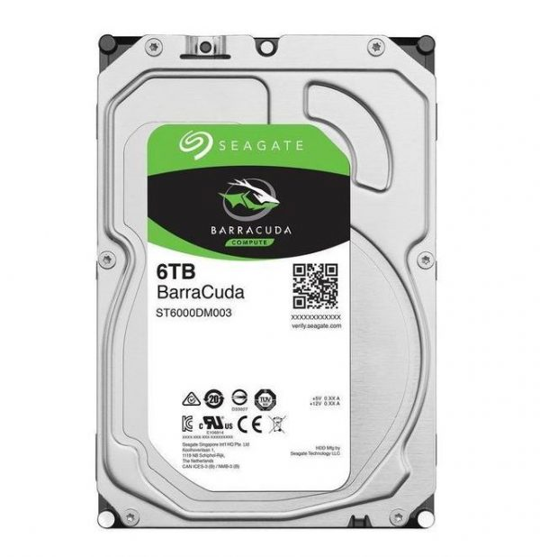 """HARD DISK BARRACUDA 6 TB SATA 3 3.5"""" (ST6000DM003) RICONDIZIONATO - PIANURA Informatica"""