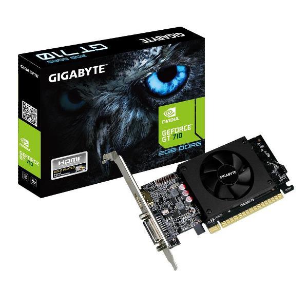 SCHEDA VIDEO GEFORCE GT710 2 GB PCI-E (GV-N710D5-2GL) - PIANURA Informatica