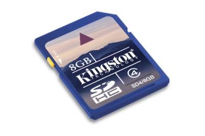 SECURE DIGITAL 8 GB (SD4/8GB) - PIANURA Informatica